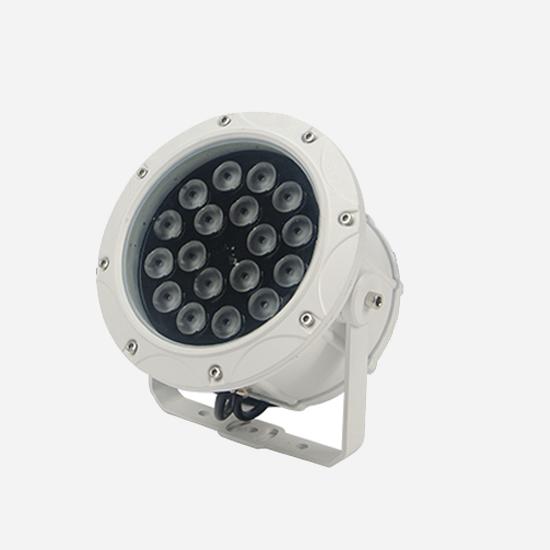 户外亮化工程厂家说说led投光灯在户外亮化的应用